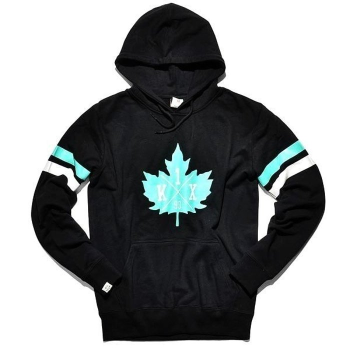 Bluza K1X Leaf Hockey Black/Turquoise/White FW14