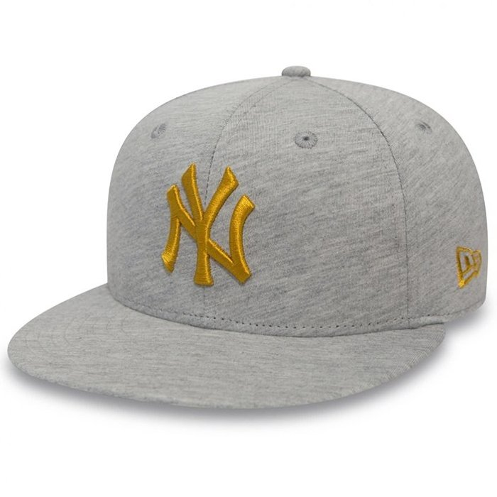 Czapka New Era 59Fifty NY Yankees Jersey Essential L.Grey/Gold
