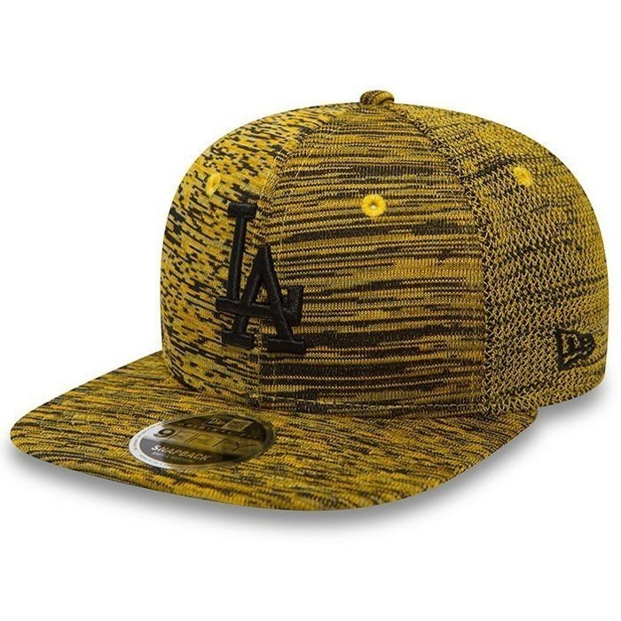 Czapka New Era 9Fifty LA Dodgers Engineered Fit Yellow/Black