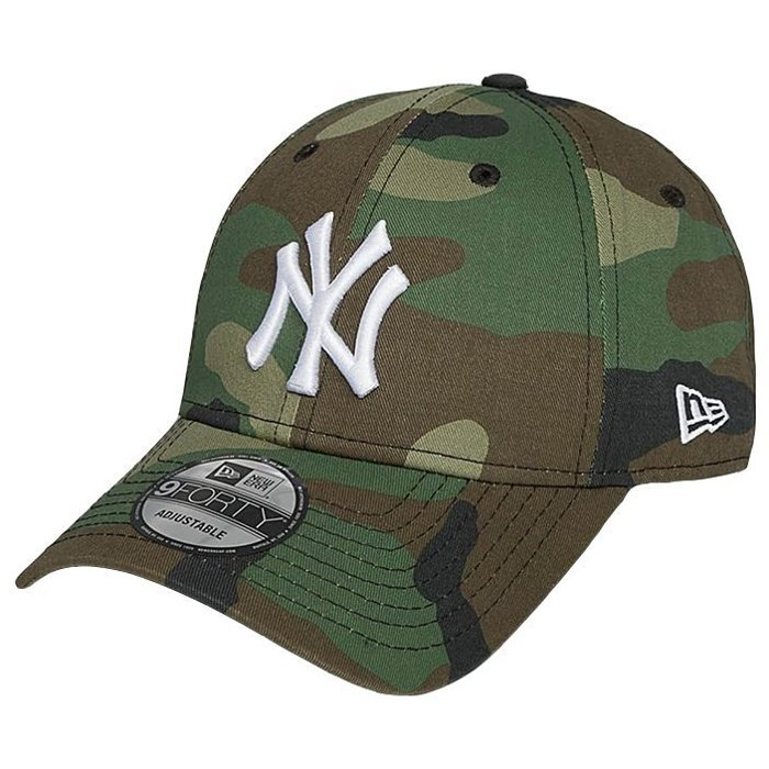 Czapka New Era 9Forty NY Yankees League Ess Woodland Camo
