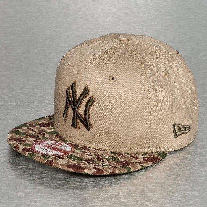 Czapka New Era NY Yankees Snapback Bubble Visor Camel/R.Green