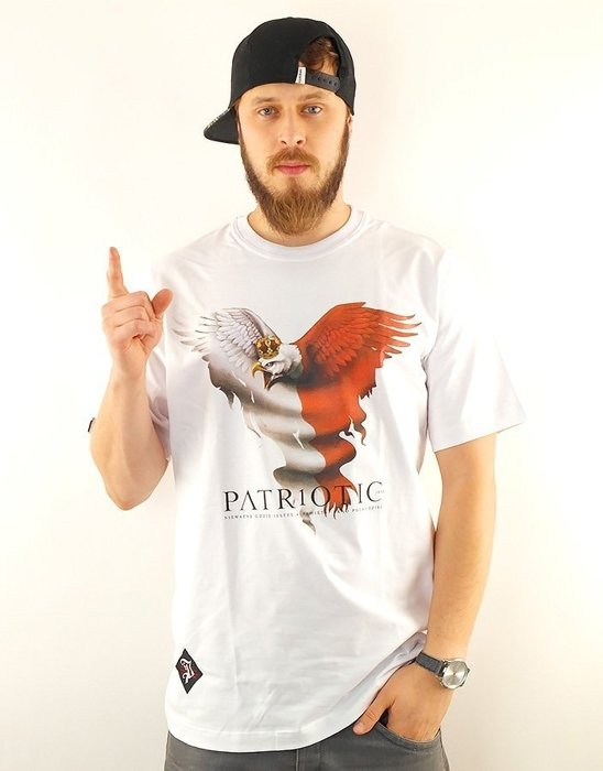 Koszulka Patriotic Eagle 2 New White FW15