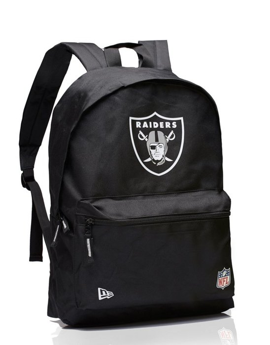 Plecak New Era Distri Stadium Pack Oakland Raiders Black/White