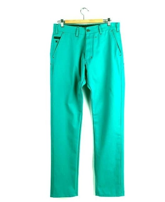 Spodnie Chinos Turbokolor Slim-fit Aqua