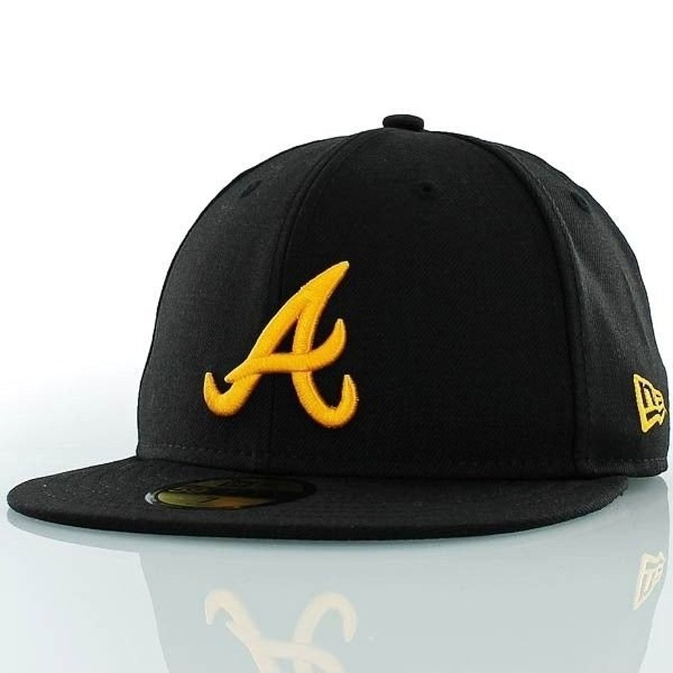 Czapka New Era Atlanta Braves Basic Black/A Gold