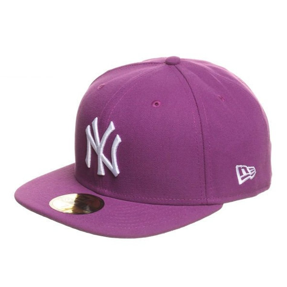 Czapka New Era NY Yankees League Basic Sparkling Grape