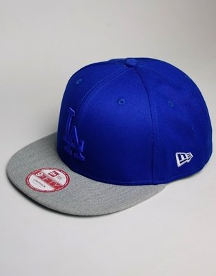 Czapka New Era LA Dodgers Snapback Pop Tonal Bright Royal/Heather Gray